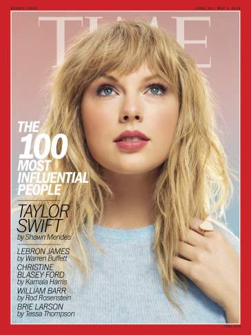 Taylor Swift TIME April 2019 Cover