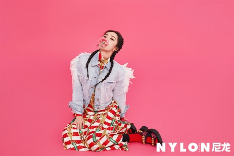 Yang Mi for NYLON China April 2019-10