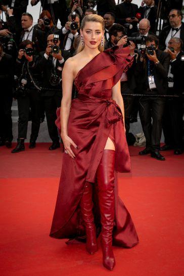 Amber Heard in Elie Saab Fall 2019-1