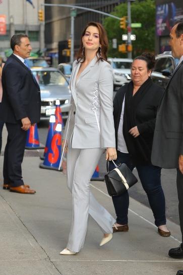 Anne Hathaway in Adeam Resort 2019-2