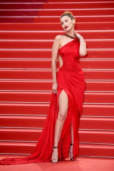 Bella Hadid in Roberto Cavalli-1