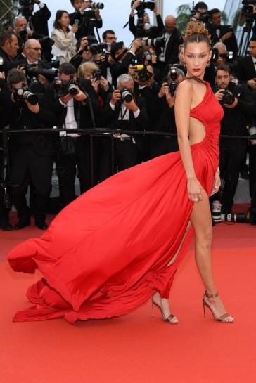 Bella Hadid in Roberto Cavalli-5