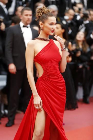 Bella Hadid in Roberto Cavalli-8