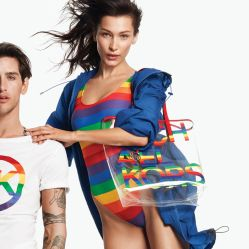 Bella Hadid Michael Kors Rainbow Capsule Collection 2019-1