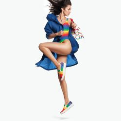 Bella Hadid Michael Kors Rainbow Capsule Collection 2019-2