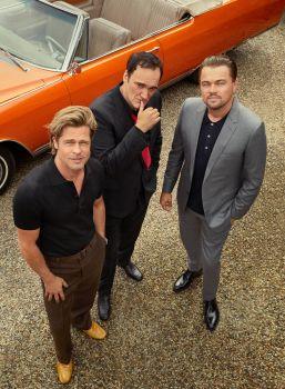 Brad PittLeonardo DiCaprio Quentin Tarantino Esquire Summer 2019-1