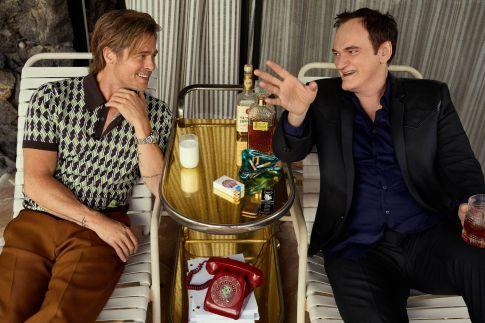 Brad PittLeonardo DiCaprio Quentin Tarantino Esquire Summer 2019-6