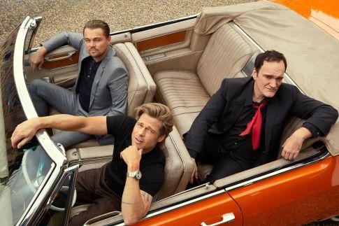 Brad PittLeonardo DiCaprio Quentin Tarantino Esquire Summer 2019-8