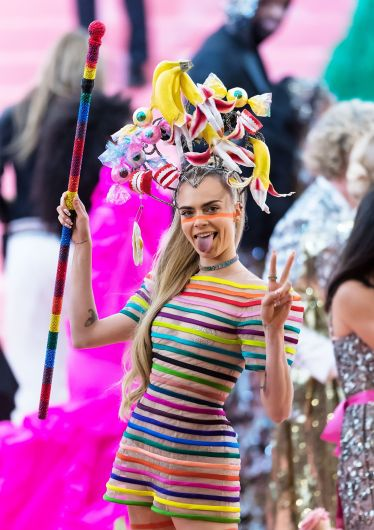 Cara Delevigne in Dior Spring 2019 Couture-1