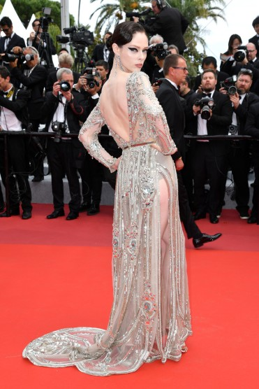 Coco Rocha in Elie Saab Spring 2018 Couture-2