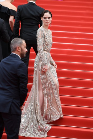 Coco Rocha in Elie Saab Spring 2018 Couture-6