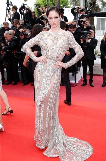 Coco Rocha in Elie Saab Spring 2018 Couture
