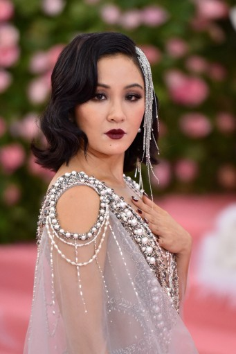 Constance Wu in Marchesa Spring 2018-3