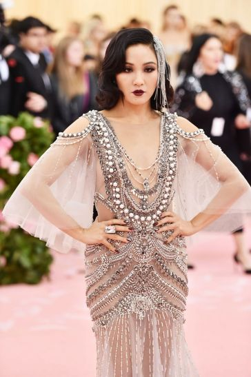 Constance Wu in Marchesa Spring 2018-7