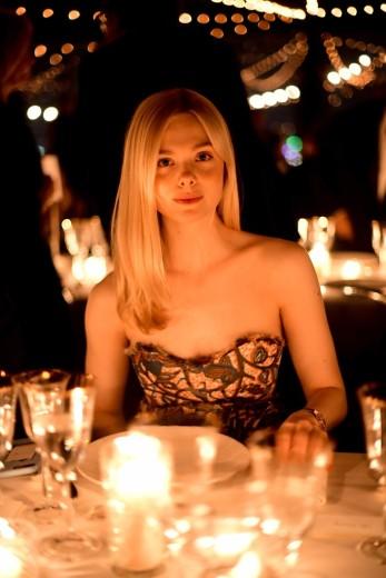 Elle Fanning in Dior Resort 2020-2