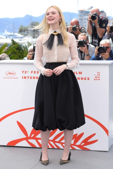 Elle Fanning in Dior Spring 2019 Couture-1