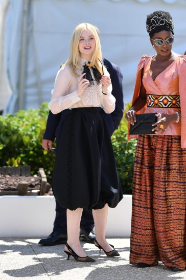Elle Fanning in Dior Spring 2019 Couture-8