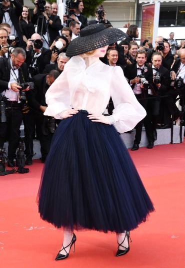 Elle Fanning in Dior