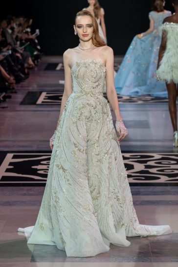 Georges Hobeika Fashion show in Paris Couture Collection Fall Winter 2019