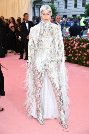 Gigi Hadid in Michael Kors