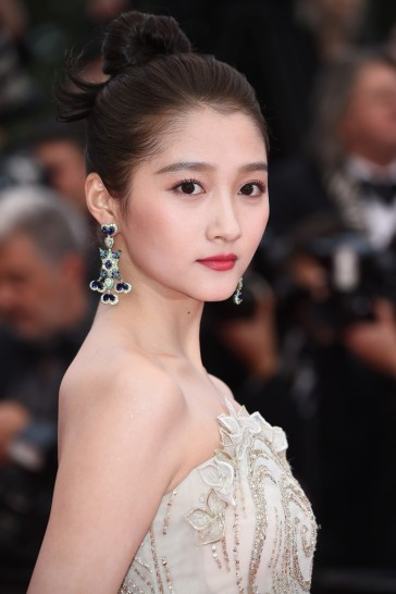 Guan Xiaotong in Georges Hobeika Spring 2019 Couture-5
