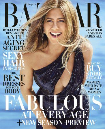 Jennifer Aniston Harper's Bazaar June 2019 Cover A
