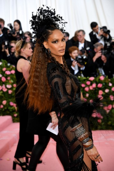 Joan Smalls in Prabal Gurung-4