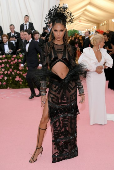 Joan Smalls in Prabal Gurung