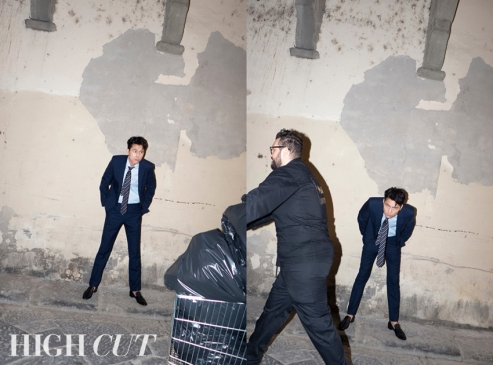 Jung Woo-sung HIGH CUT May 2019-5