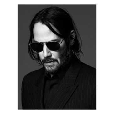 Keanu Reeves Saint Laurent Fall 2019 Campaign -2