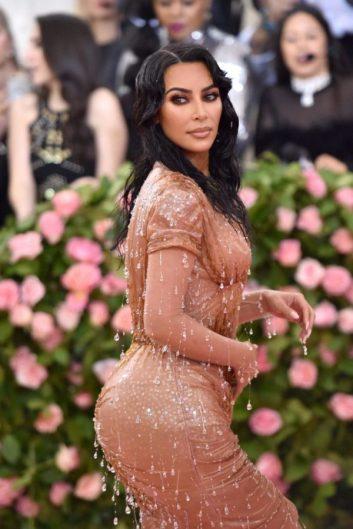 Kim Kardashian in Mugler and Kanye West in Dickies-3