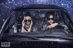 Koki and Jackson Yi for Harper's Bazaar China June 2019-2
