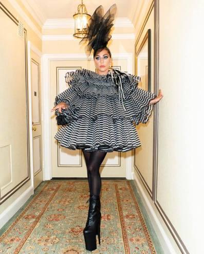 Lady Gaga in Marc Jacobs Fall 2019-1