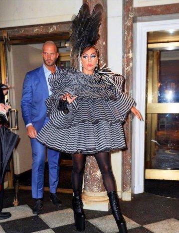 Lady Gaga in Marc Jacobs Fall 2019-3