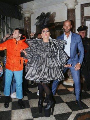 Lady Gaga in Marc Jacobs Fall 2019-5