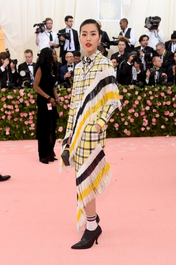 Liu Wen in Thom Browne-1