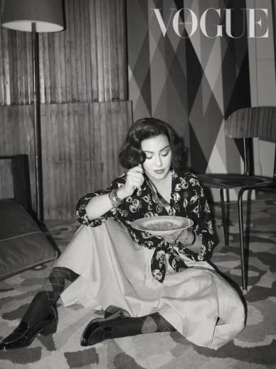 Madonna for Vogue UK June 2019-2