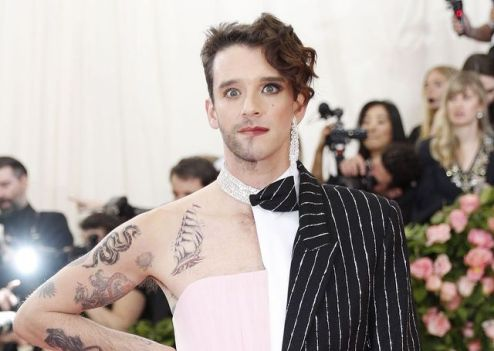 Michael Urie in Christian Siriano-2