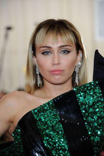 Miley Cyrusin Saint Laurent with Liam Hemsworth-5