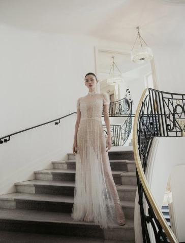 Ming Xi in Inbal Dror Capri 2019 Bridal Collection-8