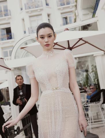 Ming Xi in Inbal Dror Capri 2019 Bridal Collection-9