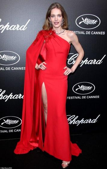 Natalia Vodianova in Atelier Versace Spring 2019 Couture