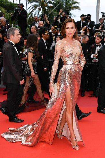 Nieves Alvarez in Elie Saab Spring 2019 Couture-2