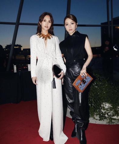Rainie Yang in Louis Vuitton Pre-Fall 2019-6