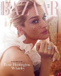 Rosie Huntington-Whiteley Harper's Bazaar UK June 2019 Cover B