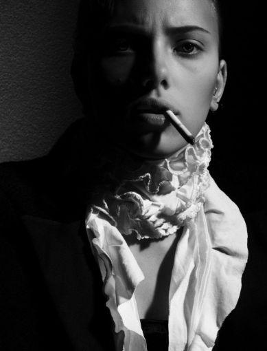 Scarlett Johansson X Dita Von Teese Flaunt Magazine September 2006-3