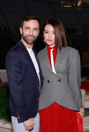 Shu Qi in Louis Vuitton Fall 2019-2