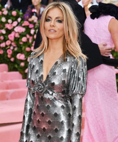 Sienna Miller in Paco Rabanne Fall 2019-3