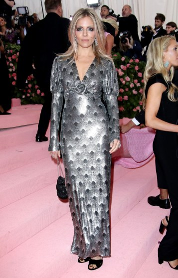 Sienna Miller in Paco Rabanne Fall 2019