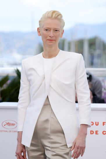 Tilda Swinton in Haider Ackermann Fall 2019-2